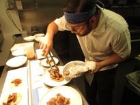 Chef Bennett Hallenbeck, Sous of the restaurant, creates a special menu each Sunday