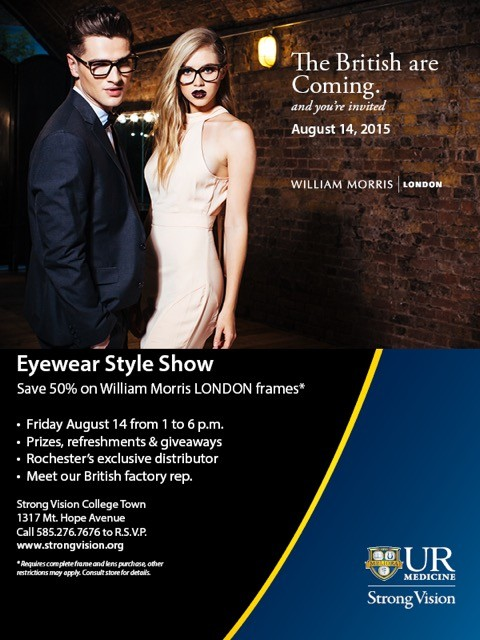 Trunk show for your eyes only for A list salon rochester