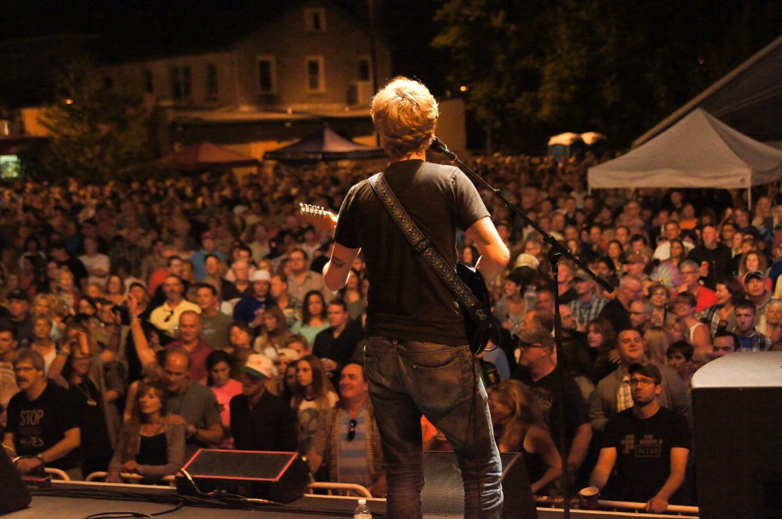 fairport music fest crowd