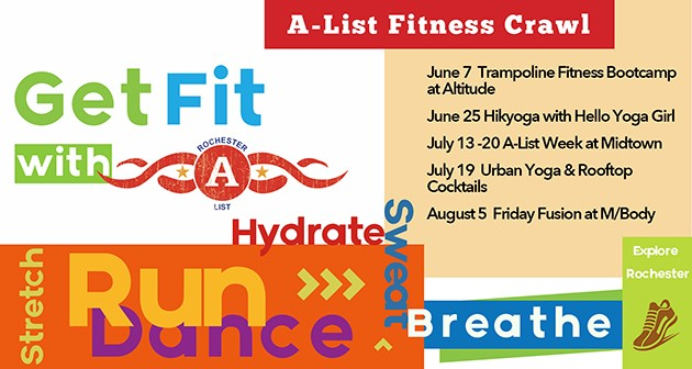 Rochester a list fitness crawl rochester a list for A list salon rochester
