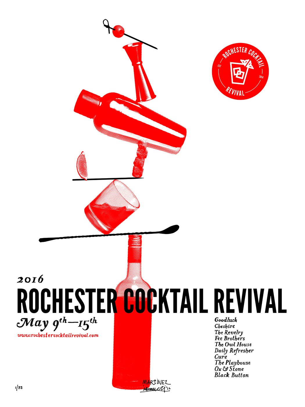 Rochester cocktail revival for A list salon rochester