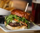 Balsamic Blue Cheese Burger