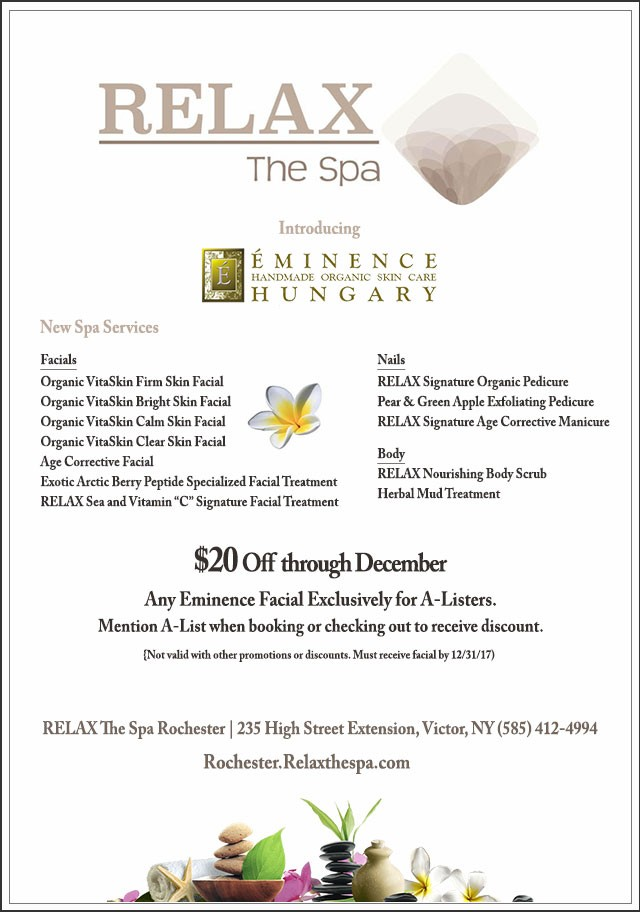 Relax the Spa December Discount