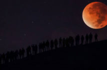 Supermoon party photo